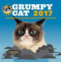 """Календарь от самой сердитой кошки в мире на 2017 год """"Grumpy Cat"""""""