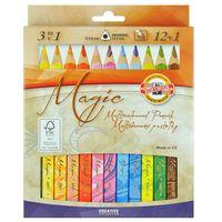 """Цветные карандаши """"Magic"""" (12+1 цветов)"""