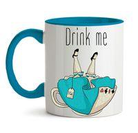 """Кружка """"Drink me"""" (арт. 572)"""