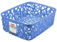 """Корзина """"Neo colors"""" (37,7х29х12,7 см; голубая)"""