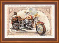 """Вышивка крестом """"Harley Davidson"""""""