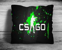 """Подушка """"Counter Strike Go"""" (арт. 6; 28х28 см)"""