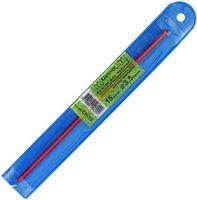 Крючок для вязания (красный; металл; 3.5 мм)