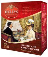 """Чай черный """"Hyleys. Английский классический"""" (100 пакетиков)"""