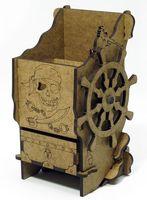 """Башня для бросков кубиков """"Пиратская"""""""