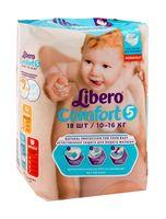 """Подгузники """"Comfort 5"""" (10-16 кг; 18 шт.)"""