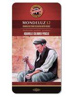 """Акварельные карандаши """"Mondeluz"""" (12 цветов)"""