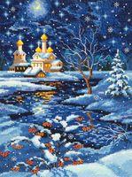 """Вышивка крестом """"Рождество"""""""