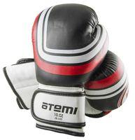 Перчатки боксёрские LTB-16101 (S/M; чёрные; 10 унций)