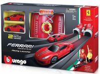 """Игровой набор """"Bburago. Ускоритель с 2 машинками Ferrari"""""""