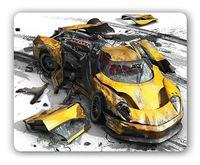 Коврик для мыши PC Pet MP-GM02 Gamer (Yellow car)