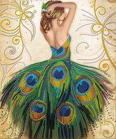 """Алмазная вышивка-мозаика """"Волшебное платье"""""""
