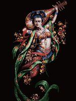"Картина по номерам ""Муза"" (500x650 мм; арт. MMC003)"