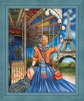 "Алмазная вышивка-мозаика ""Следуй за мной. Париж"" (400х500 мм)"