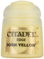 "Краска акриловая ""Citadel Edge"" (dorn yellow; 12 мл)"