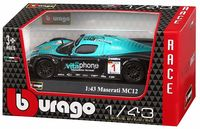 "Модель машины ""Bburago. Race. Maserati MC12"" (масштаб: 1/43)"