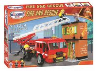 "Конструктор ""Fire and rescue. Пожарная машина"" (308 деталей)"