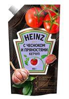 "Кетчуп ""Heinz. С чесноком и пряностями"" (350 г)"