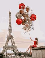 "Картина по номерам ""Праздник в Париже"" (400х500 мм)"
