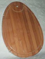 Доска разделочная бамбуковая (355х245х10 мм)