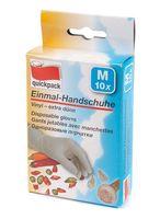 Перчатки хозяйственные резиновые (размер M; 10 шт.)