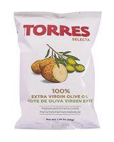 """Чипсы картофельные """"Torres. На оливковом масле"""" (50 г)"""