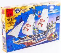 """Конструктор """"Pirates. Пиратский корабль"""" (487 деталей)"""