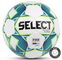 """Мяч футзальный Select """"Futsal Super FIFA"""" №4 (белый/синий/зелёный)"""