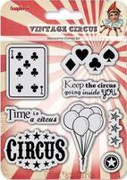 """Набор штампов """"Старый цирк. Карты"""""""