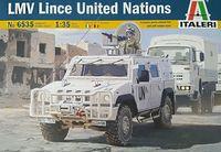 "Сборная модель ""Автомобиль LMV Lince United Nations"" (масштаб: 1/35)"