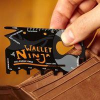Мультитул-кредитка Wallet Ninja (18 функций)