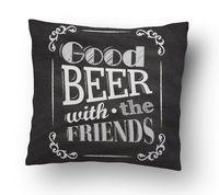 """Подушка маленькая """"Beer"""" (арт. 3; 15x15 см)"""