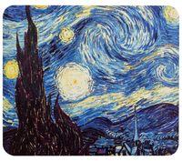 """Коврик для мыши """"Ван Гог. Звездная ночь"""" (арт. 387)"""