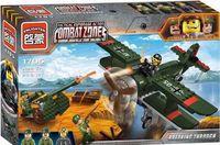"""Конструктор """"Combat Zones. Военный самолет"""" (187 деталей)"""