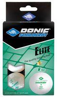 """Мячи для настольного тенниса """"Elite"""" (белые; 6 шт.; 1 звезда; арт. УТ-00019021)"""