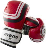 Перчатки боксёрские LTB-16111 (S/M; красные; 10 унций)