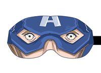 "Маска для сна ""Капитан Америка"" (арт. 1)"