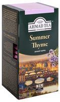 """Чай черный """"Ahmad Tea. С чабрецом"""" (25 пакетиков; саше)"""