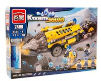 """Конструктор """"Kyanite Squad. Буpильнaя уcтaнoвкa"""" (238 деталей)"""
