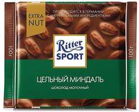 "Шоколад молочный ""Ritter Sport. Цельный миндаль"" (100 г)"