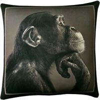 """Подушка """"Мудрая обезьяна №24"""" (35х35 см)"""