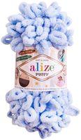 "Пряжа ""ALIZE. Puffy №183"" (100 г; 9,2 м; светло-голубой)"