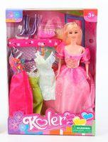 """Кукла """"Koler"""" (с набором одежды; арт. Д44294)"""