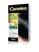 """Краска для волос """"Cameleo Pro Green"""" (тон: 1.0, черный)"""