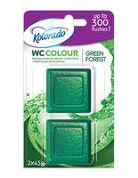 "Таблетка для бачка ""Kolorado WC Colour"" (зеленая; 2 шт.)"