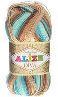 """Пряжа """"ALIZE. Diva Batik Design №4603"""" (100 г; 350 м)"""