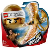 "LEGO The Ninjago Movie ""Мастер Золотого дракона"""