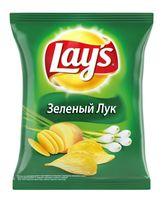 """Чипсы картофельные """"Lay's. Зеленый лук"""" (225 г)"""