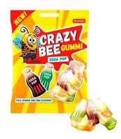 """Конфеты жевательные """"Crazy Bee Gummi. Soda Pop"""" (100 г)"""