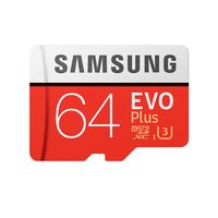 Карта памяти Samsung EVO plus microSDXC 64GB (MB-MC64GA/RU)